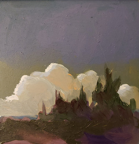 Maine Twilight by Margaret Creighton