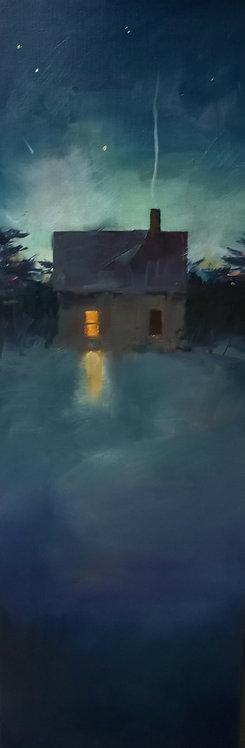 Warm Window Light-December by Sandra Leinonen Dunn