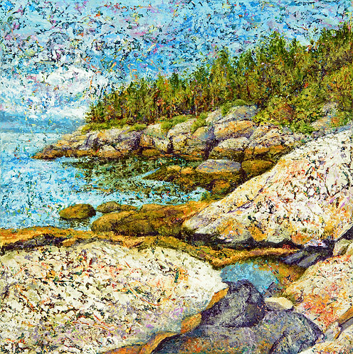 Coastal Granite by Ann Rhinehardt