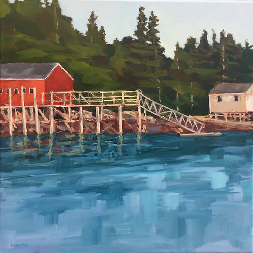 Port Clyde Dock by Stacey Lodato