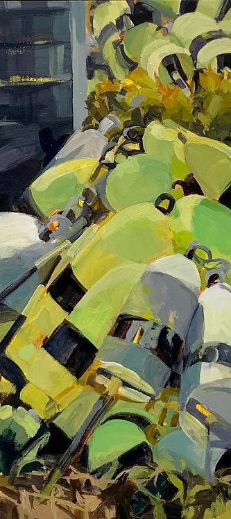 Piled High, Monhegan by Liz Prescott