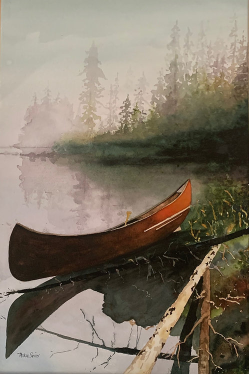 Canoe in the Fog by Patricia Smith