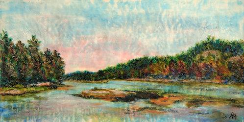 Evening Tide by Ann Rhinehardt