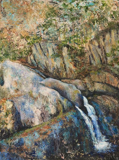 Screw Auger Falls by Ann Rhinehardt