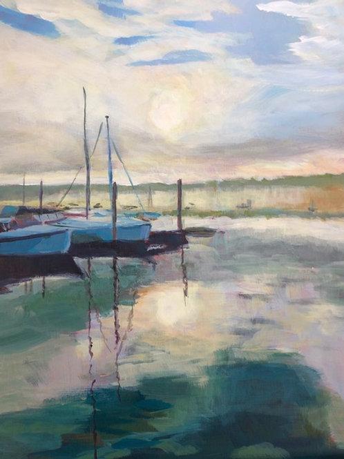 Harbor Sunrise by Sandi Lemmerman