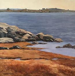 Betty Hezelton_Linekin Bay_oil on canvas