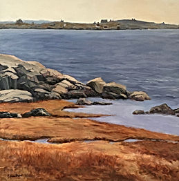 Betty Hezelton_Linekin Bay_oil on canvas