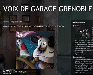 Voix De Garage Grenoble - Man On The Sea Review