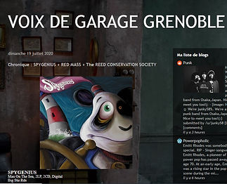 Voix De Garage Grenoble - Man On The Sea Review