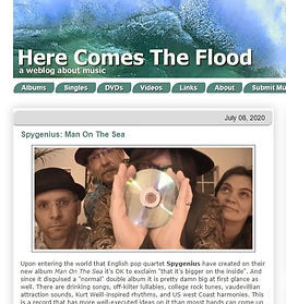 Here Comes The Flood - Man On The Sea Review