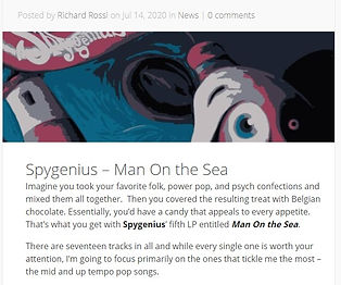Power Pop - Man On The Sea Review