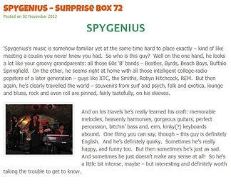 Pop Geek Heaven - Spygenius Review