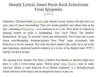New York Music Daily - Man On The Sea Review