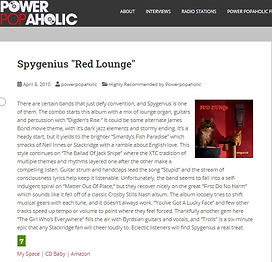 Powerpopaholic - Red Lounge Review