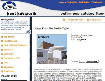 Kool Kat Musik - Song's From The Devil's Typist Review
