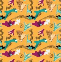 Djungeldjur gul