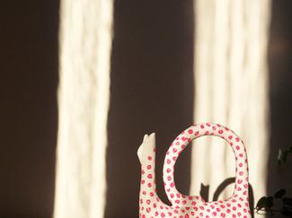 """Kattskulptur """"Leonora"""""""