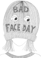 Bad face day