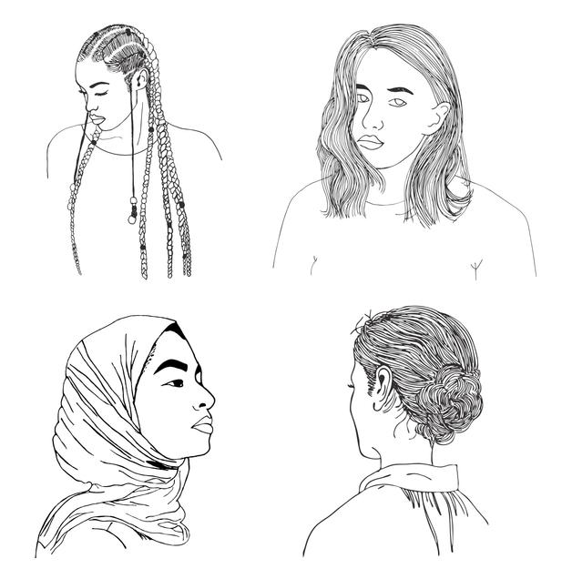 Personer för kvinnojouren Duvan