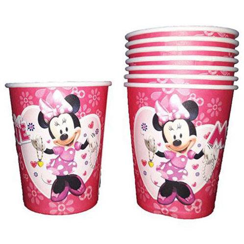 Minnie Mouse Bardak 8 Adet Model 2