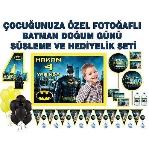 Batman Temalı Doğum Günü Parti Seti