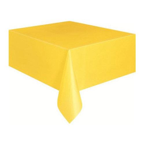 Sarı Masa Örtüsü 120x180 cm