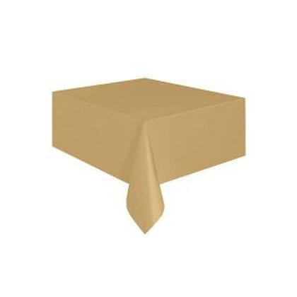 Altın Masa Örtüsü 120x180 cm