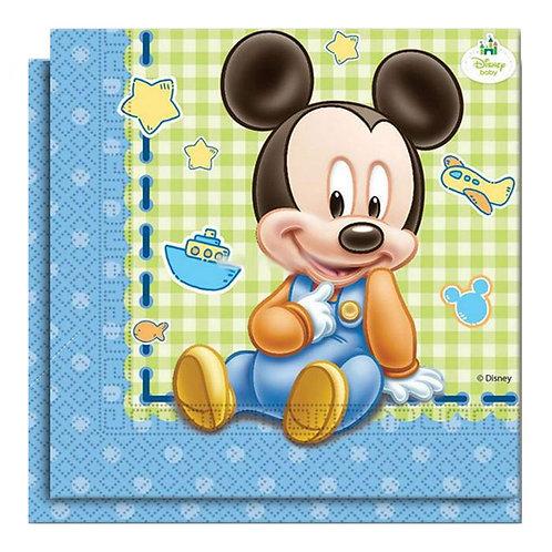Baby Micky Mouse Peçete 20 Adet