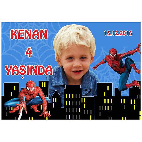 Örümcek Adam Spiderman Magnet 5x7 cm 16 Adet