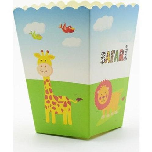Safari Mısır Kutusu Popcorn 10'lu