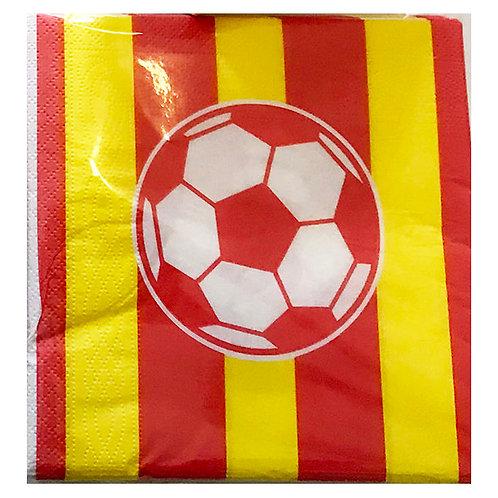 Sarı Kırmızı Galatasaray Peçete 20'li