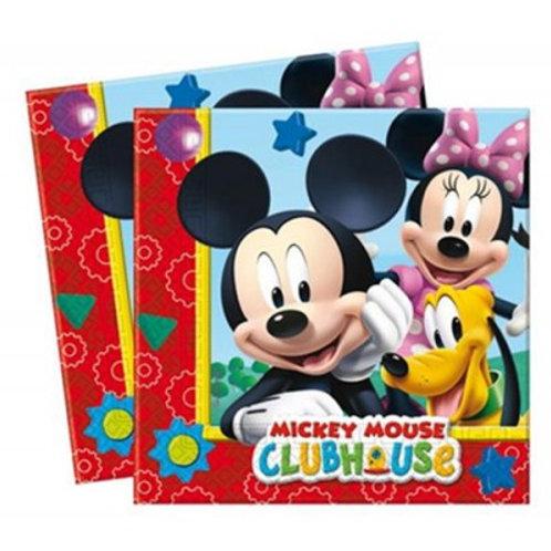 Micky Mouse Peçete 20 Adet