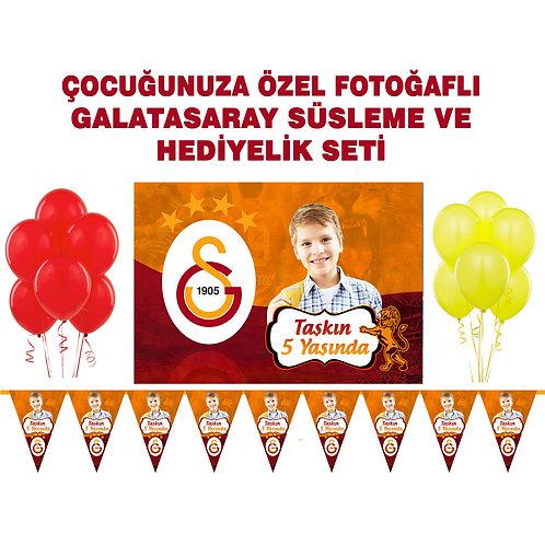 Galatasaray Doğum Günü Süsleme Seti