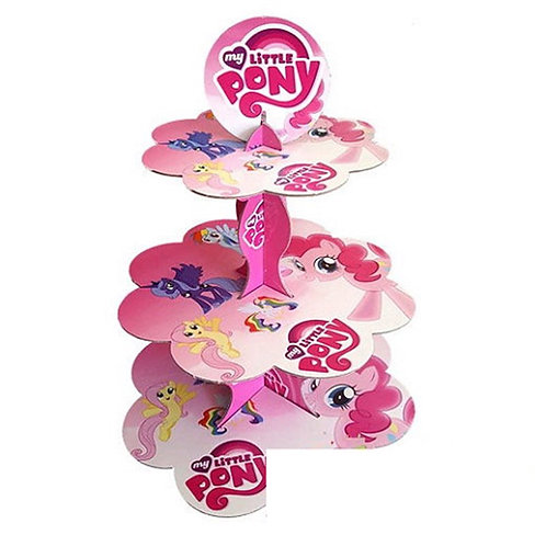 My Little Pony Kek Standı Cupcake Stand