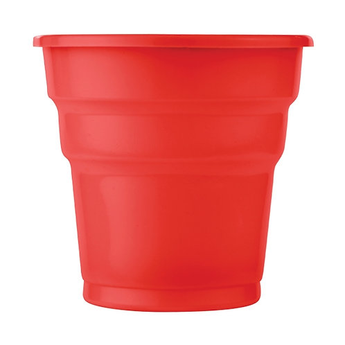 Kırmızı Plastik Bardak 25'li