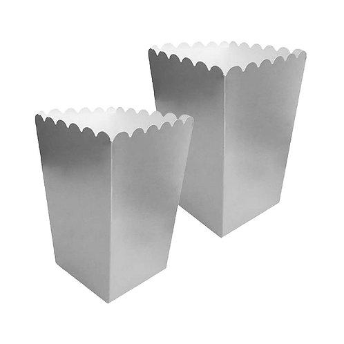 Popcorn Gümüş Mısır Kutusu 10'lu