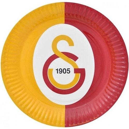 Galatasaray Lisanslı Karton Tabak 8 Adet