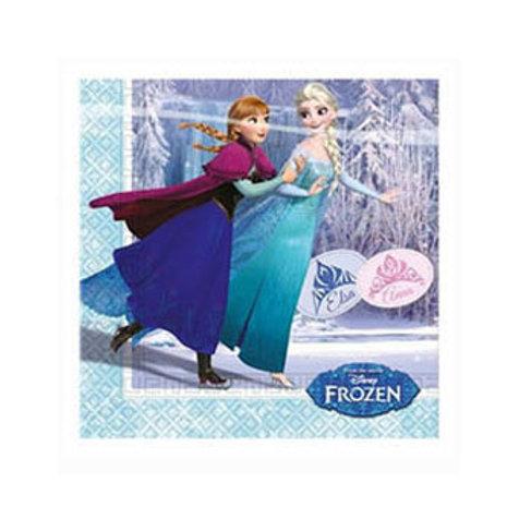 Karlar Ülkesi Elsa Frozen Peçete 20 Adet