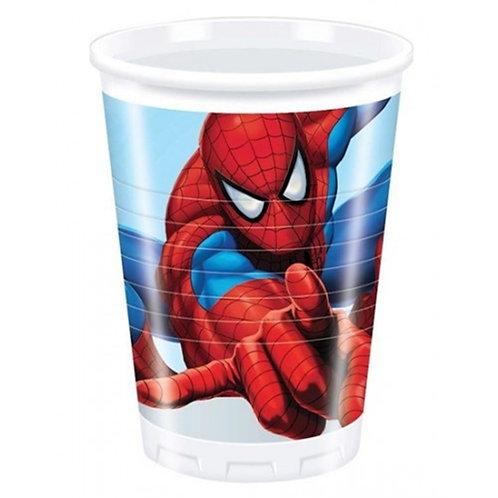 Örümcek Adam Spiderman Bardak 8 Adet