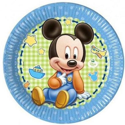Baby Micky Mouse Karton Tabak 8 Adet