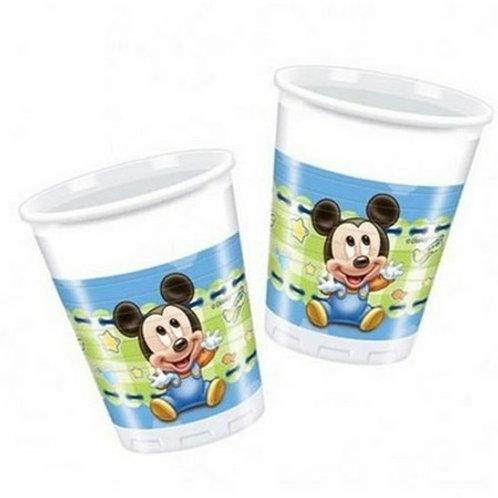 Baby Micky Mouse Bardak 8 Adet