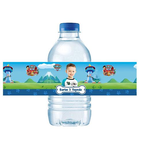 Paw Patrol Kişiye Özel Su ve Peçete Sargısı 10 Adet