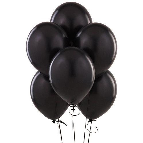 Siyah Balon 10 Adet