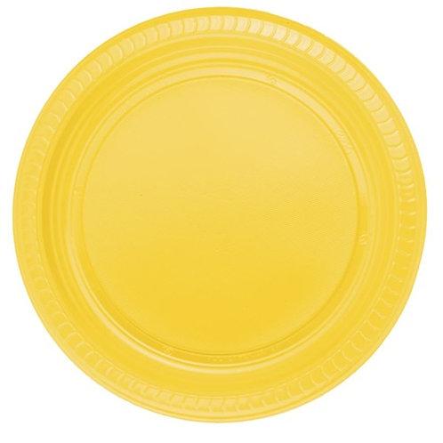 Sarı Tabak Karton 8 Adet