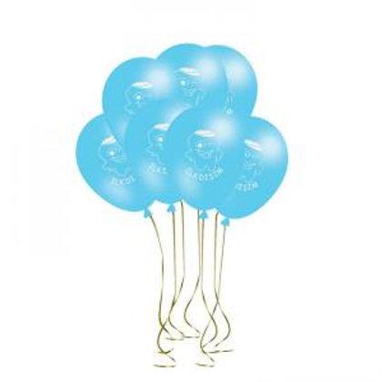 İlk Dişim Baskılı Mavi Balon 10 Adet