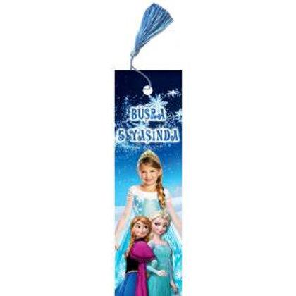 Karlar Ülkesi Elsa Frozen Kişiye Özel Kitap Ayracı 16 Adet