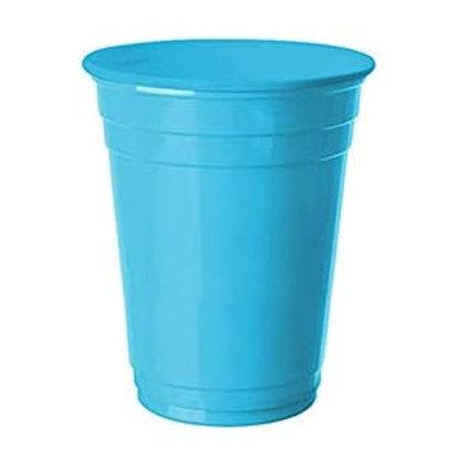 Mavi Plastik Kare Tabak 8 Adet