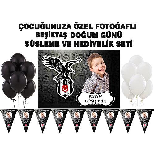 Beşiktaş Doğum Günü Süsleme Seti