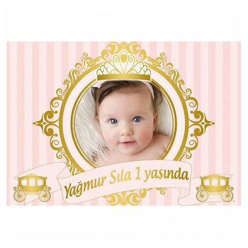 Prenses Somon Altın Afiş 50x70 cm
