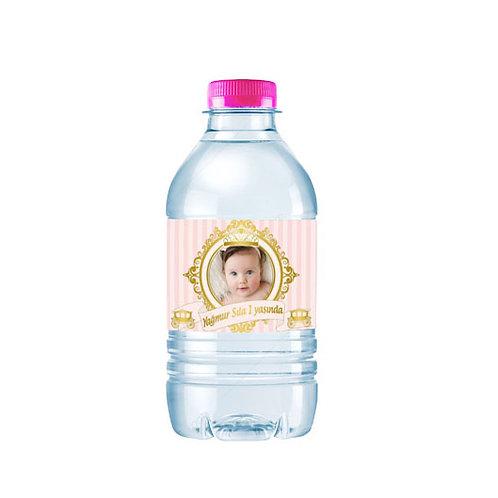 Somon Altın Kişiye Özel Su ve Peçete Sargısı 10 Adet